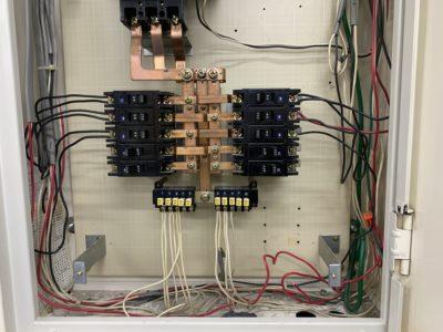 分電盤での回路分岐工事