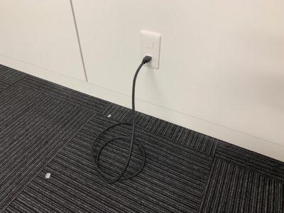 モニター壁掛けとHDMIコンセント施工