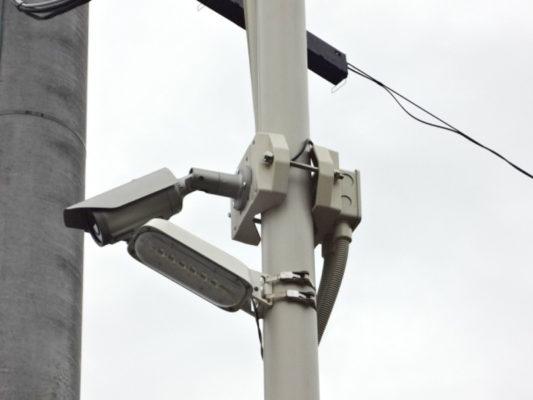 屋外防犯カメラ設置