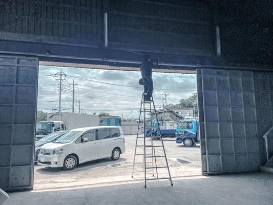 エアコン専用コンセント設置工事